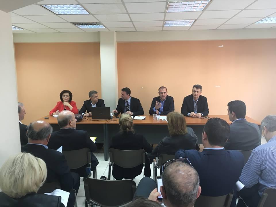 Σύσκεψη στην Αθήνα Βουλευτών Θεσσαλίας, Περιφερειάρχη - ΠΕΔ - ΤΕΕ -ΓΕΩΤΕΕ