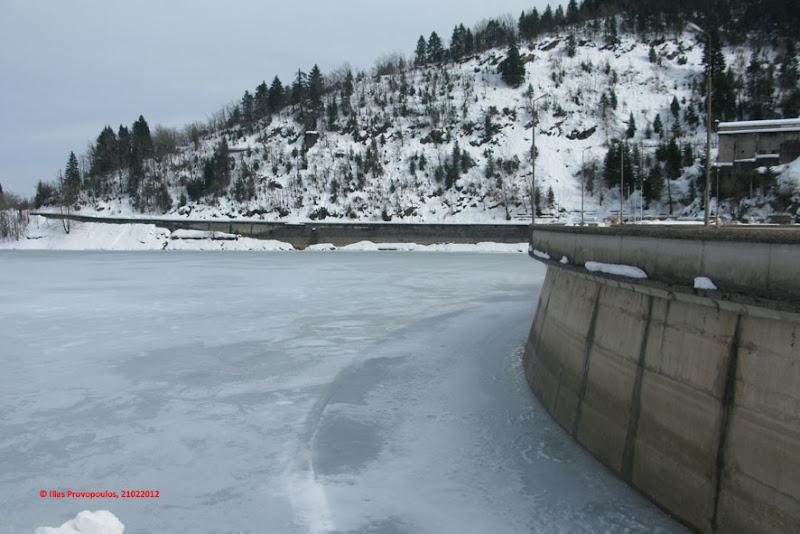 Παγωμένη Λίμνη Πλαστήρα