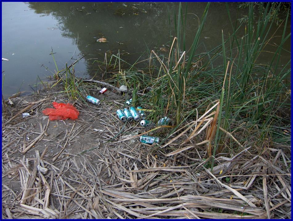 Ρύπανση Υδάτων - Κενά Συσκευασίας Φυτοφαρμάκων