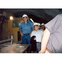 1999 Επίσκεψη Μελών ΠΑΣΕ Αχεώου στη Σήραγγα Πευκοφύτου