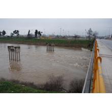 Πηνειός ποταμός (Γέφυρα Αλκαζαρ Λάρισας)