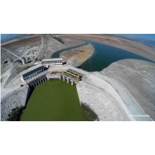"""Αεροφωτογραφία ΕΛΕΥΘΕΡΙΑΣ - Αντλιοστάσιο """"Πέτρας"""" Ταμιευτήρα Κάρλας"""